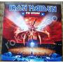 Heavy Metal, Iron Maiden, En Vivo, 2 Fotodiscos 12´, Fn4