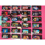 Etiquetas Labels Snes Super Nintendo N64 Plastificadas