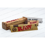Roladora Raw King Size + Papel + Filtros. Liar Zig Zag 110mm