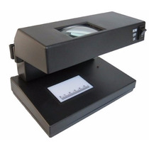Detector De Billete Falso Con Lupa 3x Zoom Led Y Uv 15w