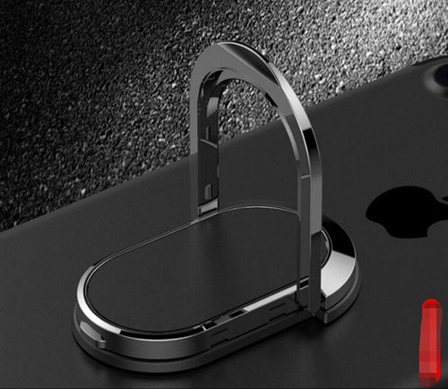 6ce2d3043a4 Anillo Sujetador Celular Metálico Súper Adherencia Magnética en ...