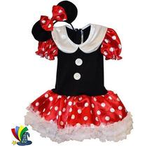 Disfraz Vestido Mimi Minnie Mouse Modelo Disney