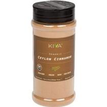 Kiva Orgánica Ceilán Canela En Polvo Premium Grade - No-gmo