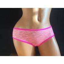 Victorias Secret Panty Transparencia Animal Print S P90