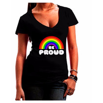 Tb Ropa Gay Tooloud Rainbow - Be Proud Gay