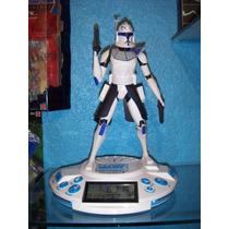 Star-wars Alarma Reloj Radio Capitan Rex Mask Thundercats Dc