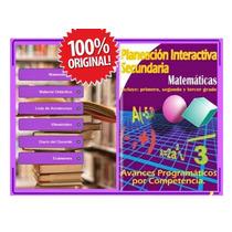 Planeacion Interactiva Matematicas Actualizado