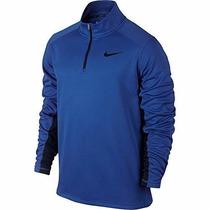 Nike Therma-fit Ko Sudadera Pullover 1/4 Zip Nva Azul