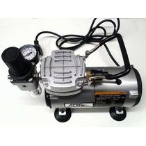 Compresor Profesional Portatil Para Aerografo