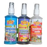 Kit Jardinería. Insecticida, Fungicida, Fertilizante Flores