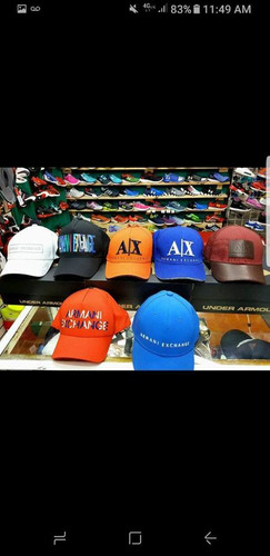 Gorras Armani Exchange --100% Originales --2018--- -   1300 en ... c76068a3453