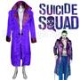Disfraz Joker Suicide Squad Gabardina Joker Envio Gratis