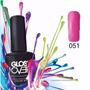 Esmalte Gel Uñas Tipo Gelish Gloss Over Color Strawberry
