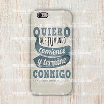 Funda Mundo Contigo Iphone 5,5c, 6,6s, 6 Plus Galaxy S5, S6