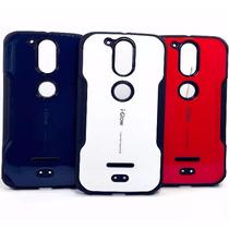 Moto G4 Plus Funda Case Iglow Uso Rudo Ent Personal Bumper
