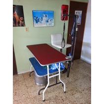 Mesas Para Estética Canina- Azul $2750 Y Roja $3950