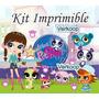 Kit Imprimible Littlest Pet Shop Candy Bar Golosinas Y Mas