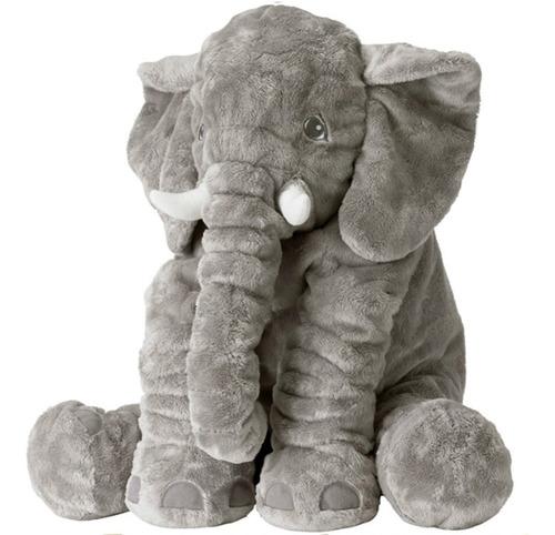 Azul beb/é Elefante espigado Flojo con la Bufanda Felpa Suave Peluche.