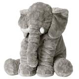 Bonita Almohada De Elefante Peluche Felpa Suave Para Bebes