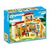 Playmobil 5567 Guarderia Escuela Niños Retromex
