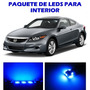 Honda Accord 2003 2012 Paquete Led Para Interior Kit Azul