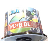 Dvd Dl Doble Capa Efinity Disc Con 50 8.5 Gb 8x Logo