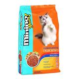 Alimento Minino Yum Para Gato Sabor Camarón/pescado En Bolsa De 20kg