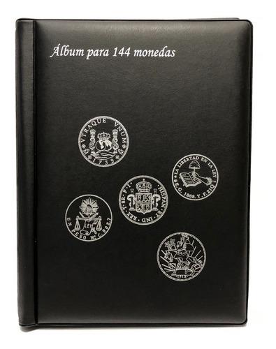 Album Plastico Para 144 Monedas