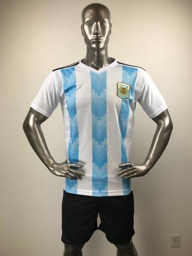 9a36bb5d36 Argentina Local Uniforme Futbol Jersey Playera Personalizada.   285