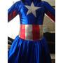 Disfraz Batichica/mujer Maravilla/cap América/harley Qadulto