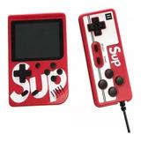 Game Box Sup Mini Consola 400 Juegos Recargable + 1 Control
