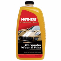 Shampoo Para Auto Con Cera Carnauba Mothers 1.89 Litros 5674