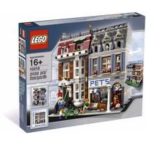 Lego 10218 Pet Shop, Tienda De Mascotas Creator,env Grat,msi