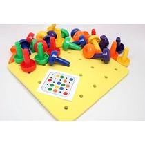 Junta De Peg - Multa Toy Motor Para Niños Pequeños Y Preesco