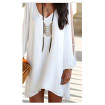 Vestido Blanco Lindo, Elegante