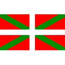 Bandera País Vasco Ikurriña, Bilbao 90 Cm X 150 Cm