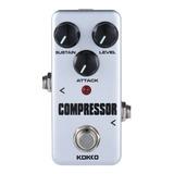 Kokko Fcp2 Mini Compresor Pedal Efecto Guitarra Portátil