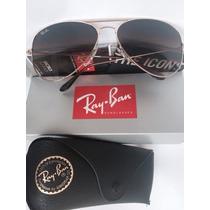 Ray Ban Aviator - 3025 001/51 Medianos 55mm Originales
