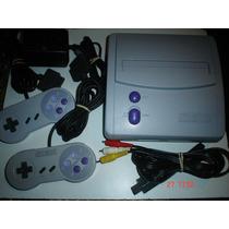 Paquete Super Nintendo Slim +8 Juegos,hay + D 200 Juegos