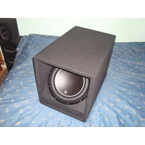 Cajon Subwoofer 12 Jl Audio Pioneer Mtx Sony Alpine Mdf 19mm