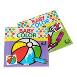 Set De 2 Libros Para Colorear (niños De 2 A 3 Años) Saldaña