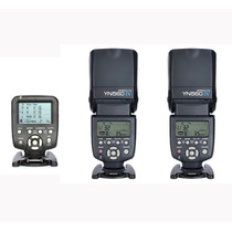 Kit 2 Flashes Yongnuo 560iv Y Radio Control (canon O Nikon)