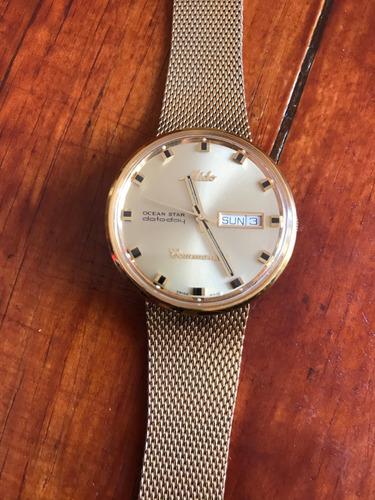 6526f0878f0c Reloj Mido Automatico Commander Dorado Caballero Buen Estado en venta en  Nezahualcoyotl Estado De México por sólo   4700