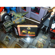 Jurassic Park Rampage Edition Sega Genesis Label Reimpresa