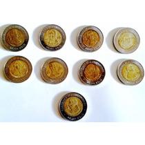 9 Monedas Bicentenario De La Independencia