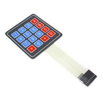 Teclado Matricial 4x4 De Membrana, Arduino,pic, Refactronika
