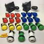 2 Palancas Joysticks 19 Botones Yenox 2 Botones De 1 Y 2 Jug