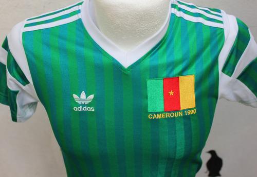 Jersey Cameroon Copa Mundial 1990 adidas 072ac6ebb5276