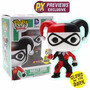 Harley Quinn Funko Pop!! Glow In The Dark Previeus Exclusive