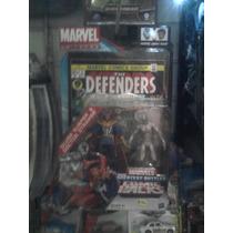 Marvel Universe Doc Strange Deslizador De Plata Pack C Comic